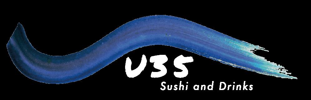 Logo sushi u35 restaurante texto blanco (1)